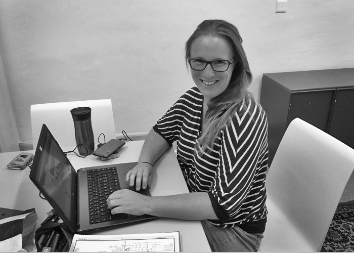 Karina Gjerpe, responsable des ventes chez tem pimenta